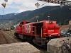 A SBB-CFF-FFS Am 843 003-5 Martigny állomáson