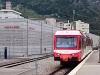 A TMR Beh 4/8 71 Martigny állomáson