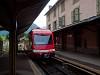 Az SNCF TER csak adhéziós Z855 pályaszámú motorkocsija Vallorcine állomáson (határállomás Svájc és Franciaország között a Martigny-Chamonix-St. Gervais vasútvonalon)