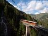 Egy ismeretlen Gornergratbahn Bhe 4/6  Zermatt és Findelbach között