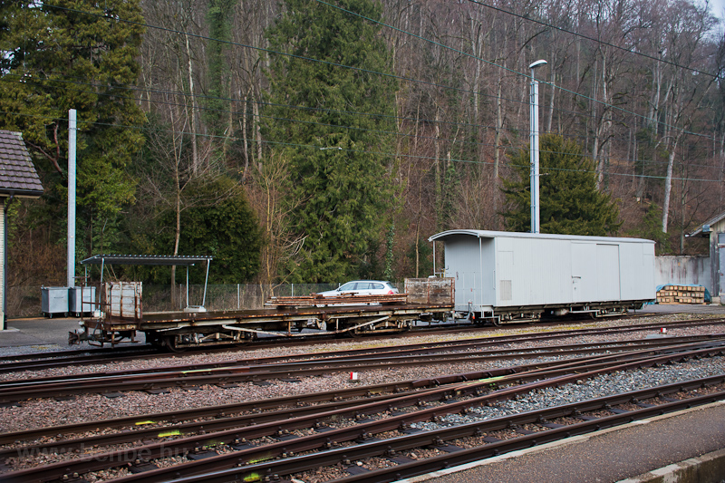 Freight cars at Waldenburg  photo