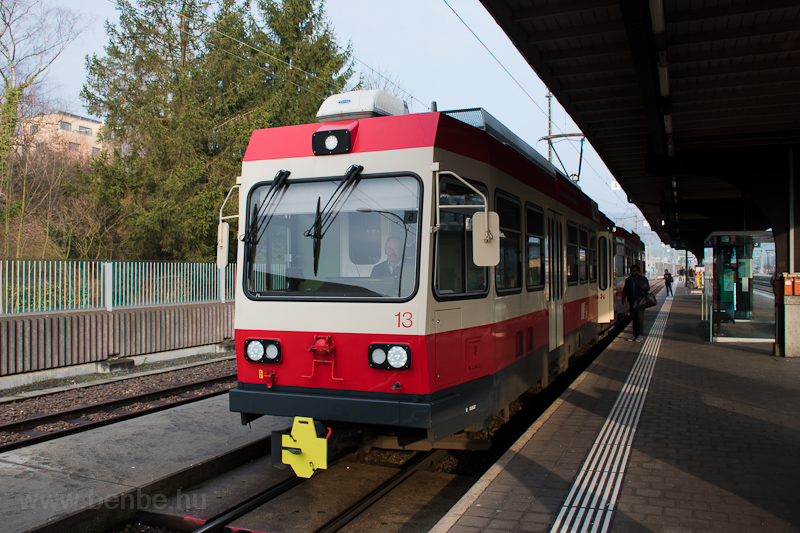 The Waldenburgerbahn BDe 4/ photo