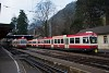 A Waldenburgerbahn Bt 113 és 118 Waldenburg állomáson