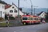 A Waldenburgerbahn BDe 4/4 15 Oberdorf és Waldenburg között