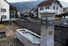Felújított ártézi kút Oberdorfban