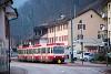 A Waldenburgerbahn Bt 120 Oberdorf megállóhelyen