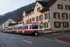A Waldenburgerbahn Bt 120 Oberdorf és Oberdorf Winkelweg között