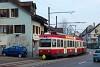 A Waldenburgerbahn BDe 4/4 15 Oberdorf és Oberdorf Winkelweg között