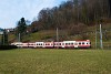 A Waldenburgerbahn BDe 4/4 17 Niederdorf és Oberdorf Winkelweg között