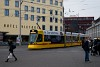 A Baselland-Transport (BLT) Stadler Tango villamosa Basel SBB állomás előtt