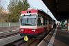 A Waldenburgerbahn BDe 4/4 13 Liestal állomáson