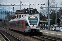 A Südostbahn (SOB) 526 053-4 Sargans állomáson