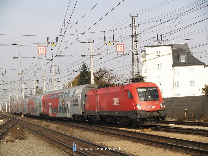1116 170-0 Bécsújhely (Wiener Neustadt) állomáson fotó
