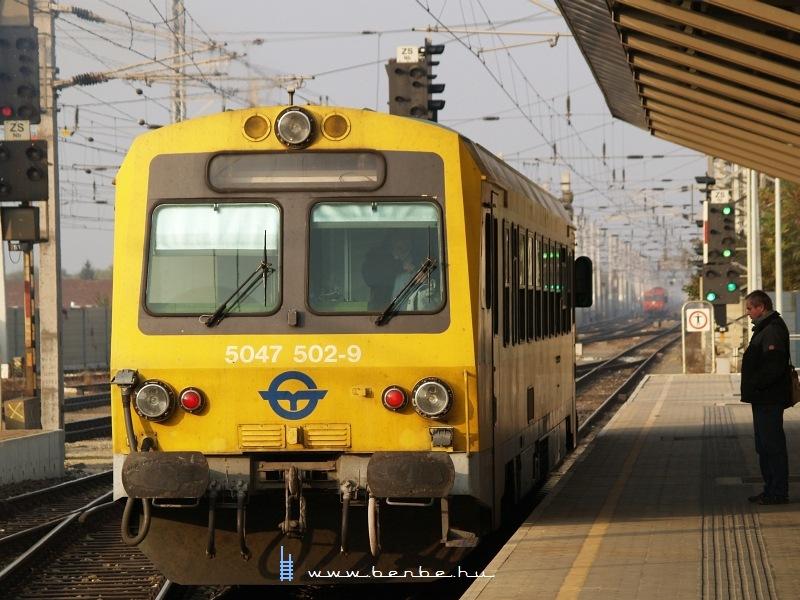 5047 502-9 Bécsújhely (Wiener Neustadt) állomáson fotó