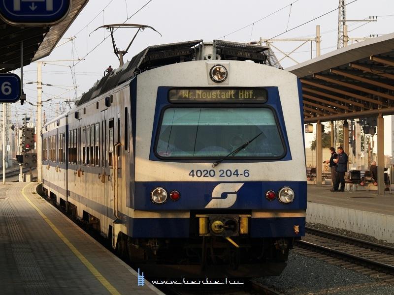 4020 204-6 Bécsújhely (Wiener Neustadt) állomáson fotó