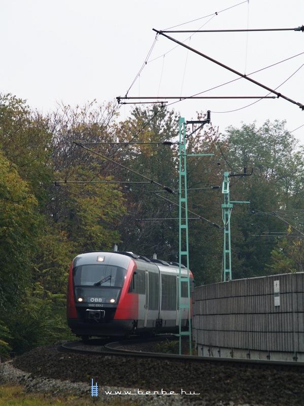5022 033-2 Lajtaújfalu (Neufeld a/d Leitha) állomáson fotó
