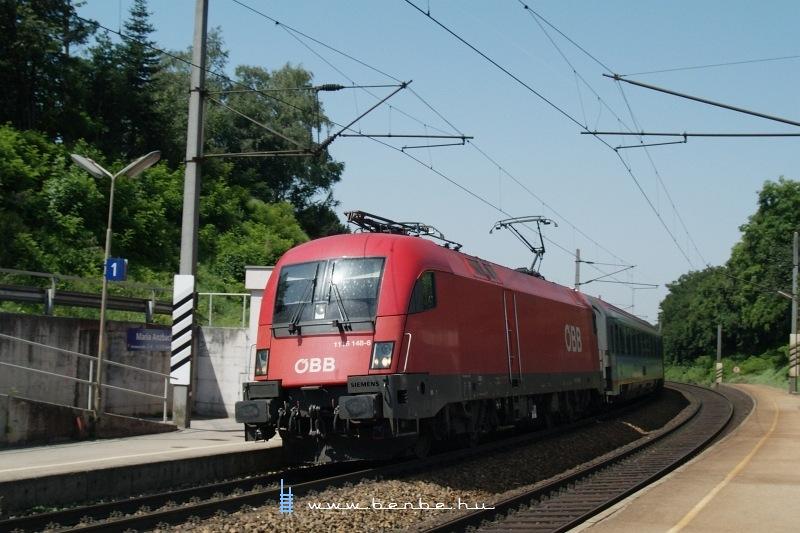 1116 148-6 mindjárt Bécsbe ér IC-jével fotó