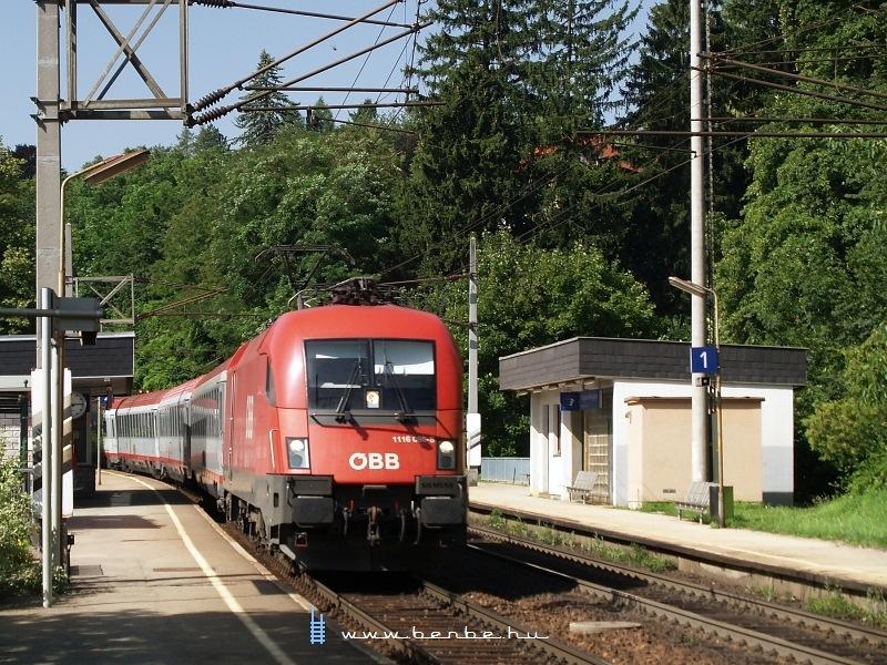 1116 086-8 Eichgraben-Altlengbach megállóhelyen fotó