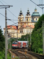 The 1142 613-7 at Melk