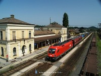 The 1116 240-1 at Melk