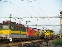 Locomotives at Sopron, most importantly M42 001