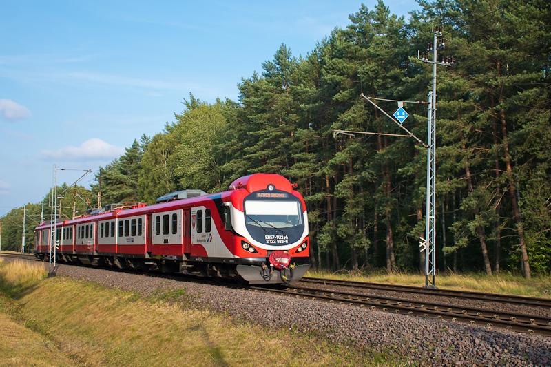 A Koleje Wielkopolskie EN57 fotó