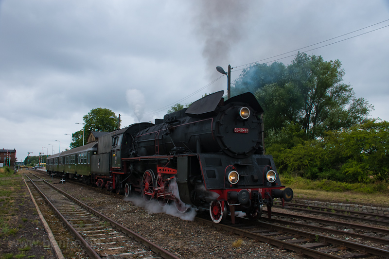A PKP Ol49-59 Tuchorza megá fotó