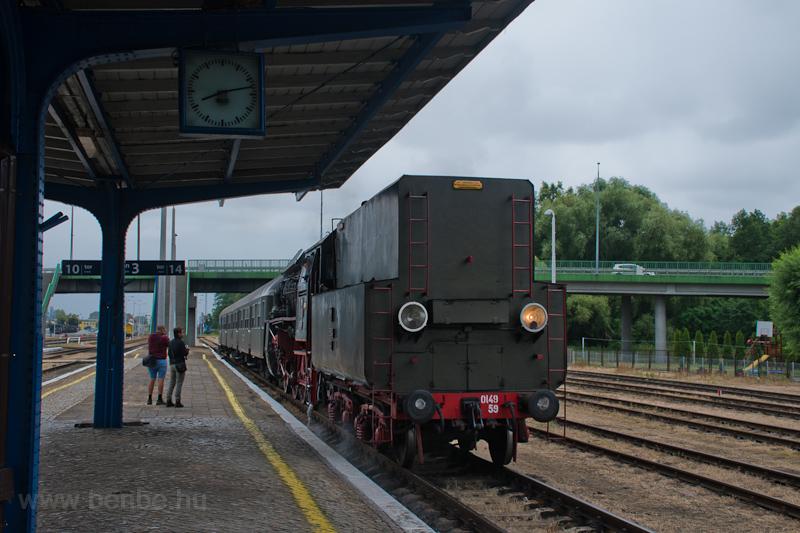 A PKP Ol49 59 Wolsztyn állo fotó