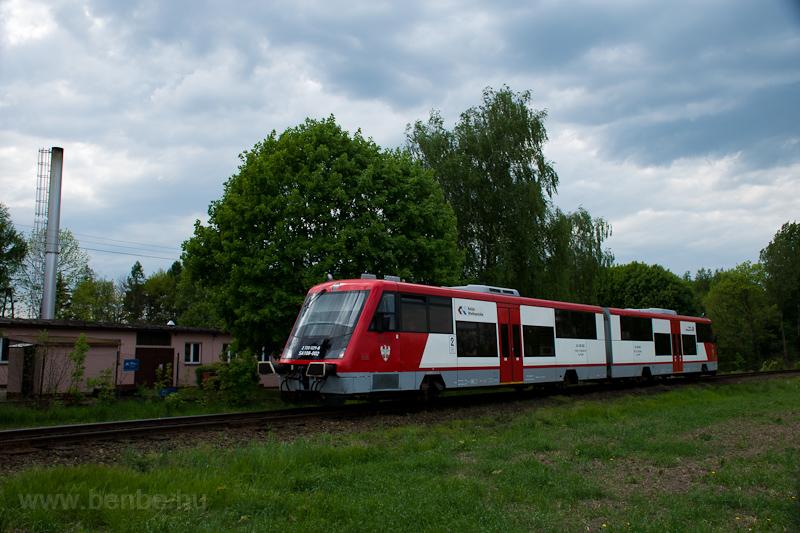 A Koleje Wielkopolskie SA108-002 Krzycko Wielkie állomáson fotó