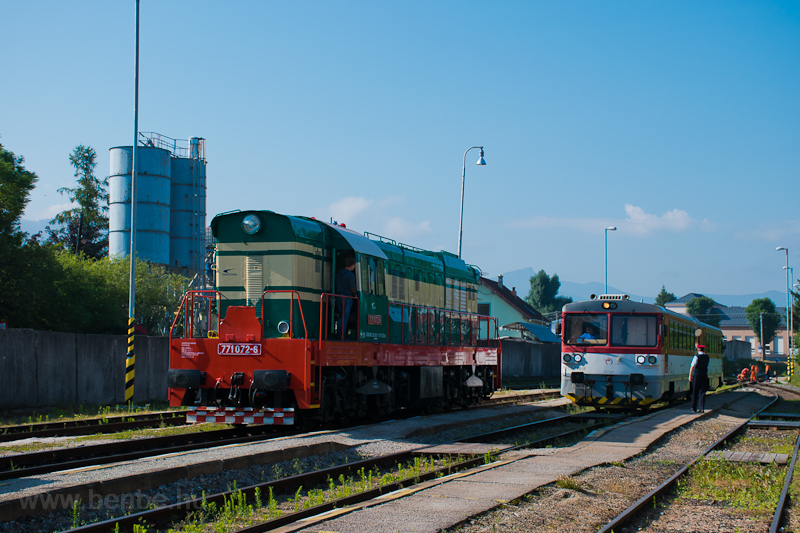 The ZSSKC 771 072-6 and the photo