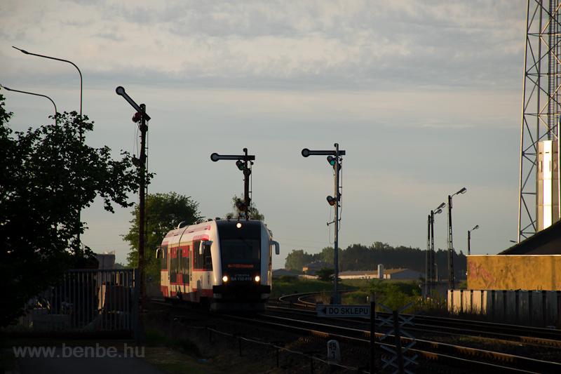 A Koleje Wielkopolskie SA132 010 Wolsztyn állomáson fotó
