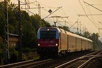 The PKP InterCity EU44 001 seen between Porażyn and Opalenica