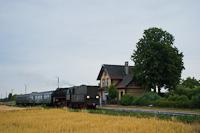 The PKP Ol49 59 seen at Zbąszyń Przedmieście stop