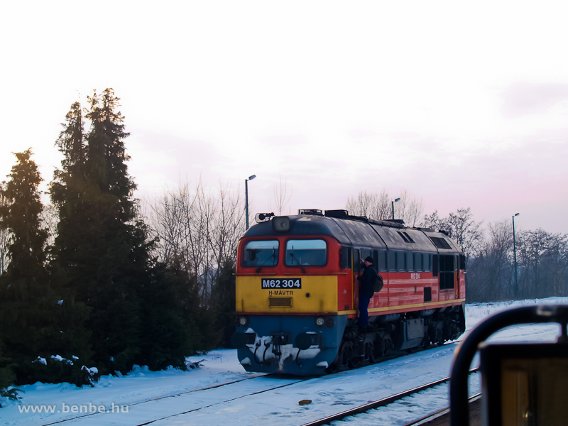 The M62 304, the helper at Vasvár station photo