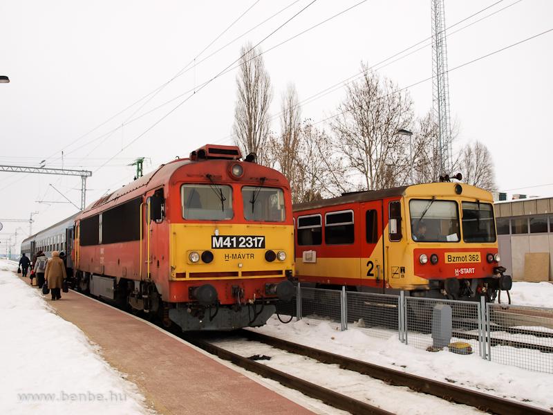 M41 2317 és Bzmot 362 Ukk állomáson fotó
