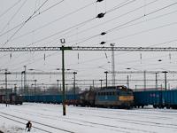Napkelte Győr mellett a vonatból