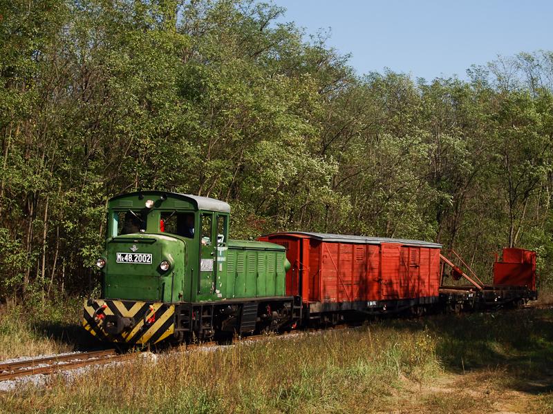 Az Mk48,2002 tehervonattal Martinka és Erdészlak között fotó