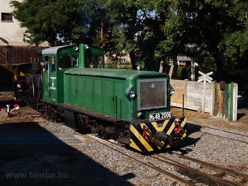 Az Mk48,2006 tolat Debrecen-Fatelepen fotó