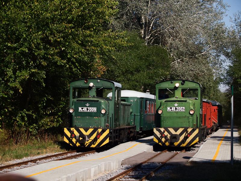 Vonattalálkozás Erdészlakon fotó