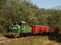 The Mk48,2002 is hauling a freight train between Martinka and Erd�szlak