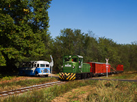 The Mk48,2002 is hauling a freight train between Martinka and Erdészlak