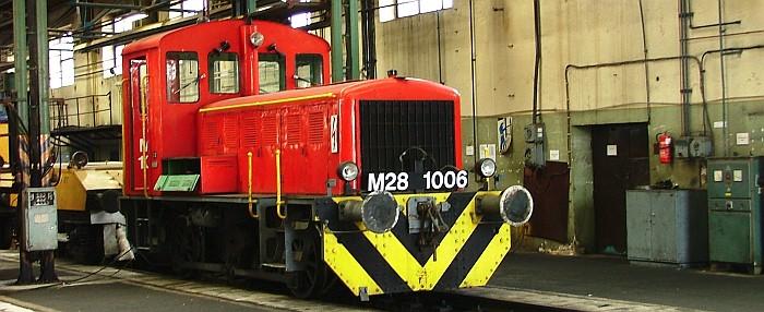 MÁV M28 sorozatú dízelmozdony